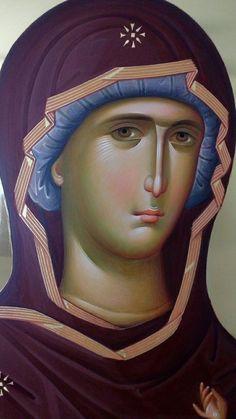 Religious Pictures, Religious Icons, Religious Art, Catholic Prayers, Catholic Saints, St Maria, Byzantine Icons, Holy Mary, Orthodox Icons
