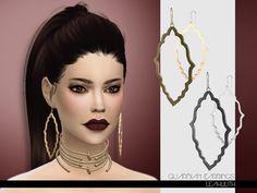 Guardian Earrings  Found in TSR Category 'Sims 4 Female Earrings'