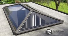 Simple yet stylish design with less rafters than the traditional roof lantern to allow more light to flood into your home and creating a more modern look. Pergola With Roof, Patio Roof, Pergola Shade, Pergola Plans, Diy Pergola, Pergola Kits, Pergola Ideas, Flat Roof Repair, Roofing Supplies