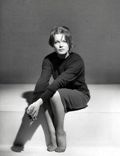 Romy Schneider by Sam Levin, 1960s