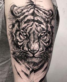 Badass Tattoos, Life Tattoos, Body Art Tattoos, Cool Tattoos, Octopus Tattoos, Animal Tattoos, Lion Tattoo Sleeves, Sleeve Tattoos, Tiger Tattoo Design