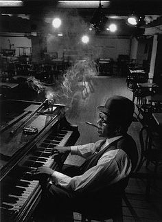 Willie The Lion Smith NYC 60 by Arnold Newman