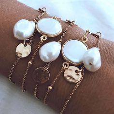 bijoux tendance ete 2019 07 - Best Tutorial and Ideas Trendy Jewelry, Dainty Jewelry, Jewelry Trends, Pearl Jewelry, Boho Jewelry, Jewelry Accessories, Jewelry Necklaces, Fine Jewelry, Fashion Jewelry
