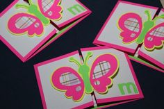 Butterfly Birthday Invitation-- Detailed