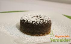 Çikolata Şelalesi Sufle Tarifi | Resimli Yemek Tarifleri Hayalimdeki Yemekler