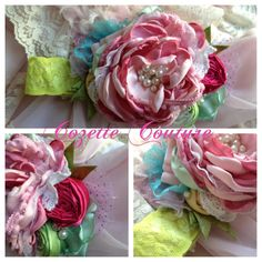 I LOVE THIS!!  Spring Jewel by Cozette Couture made to match Spring Matilda Jane 2013 Good Heart, $30.99