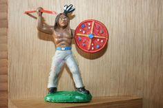 DDR Indianer Cowboy Figur
