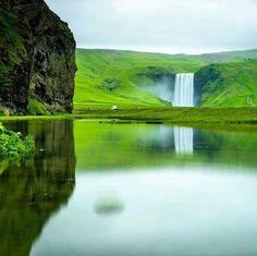 Skógafoss, Iceland – Photography by @ChrisBurkard.