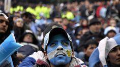 Sufrimiento en Buenos Aires.......... Argentina 1 Suiza 0 .......... Gol de Di Maria..... en tiempo suplementario..... 1 julio de 2014.. octavos de final.. Estadio Arena Corinthias ... San Pablo.. Brasil.