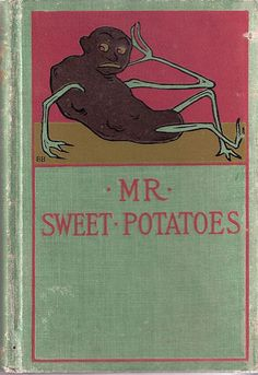 This is a creepy-looking vintage book cover. I want it!