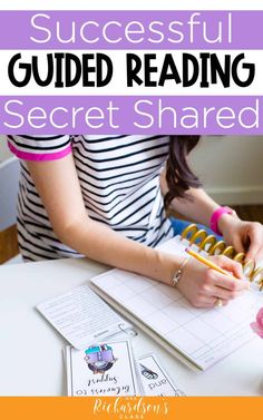 Learn the top secret to successful guided reading groups. Besides powerful lesson plans, this tip sets you up for success to see real results in your kindergarten, first, and second grade students.