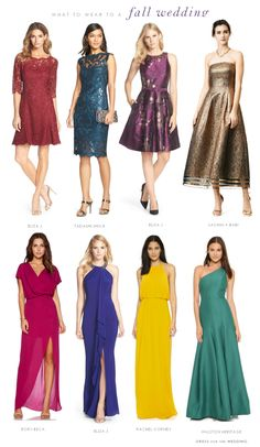 612def3ae8d What to Wear to a Fall 2015 Wedding! October Wedding Guest ...