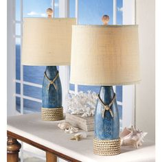 Buoy Table Lamp Pair - Stylish Home Accents and Décor - Graceful Clothing, Accessories & Jewelry