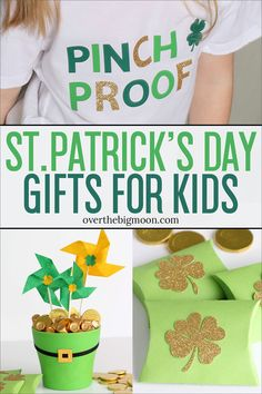 These three fun St. Patrick's Day Gifts for Kids that are all made with my Cricut Maker that will all make their day special! These three fun St. Patrick's Day Gifts for Kids that are all made with my Cricut Maker that will all make their day special! Small Gifts, Gifts For Kids, Rainbow Treats, St Patrick's Day Gifts, Cricut, Easy Diy Projects, Craft Projects, Craft Ideas, Family Gifts