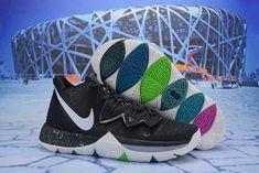 899f21614f8 Nike Kyrie 5 Black Magic Multi AO2918-901 Men s Basketball Shoes Irving  Sneakers AO2918-901a