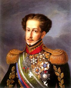 D. Pedro I, o Defensor Perpétuo do Brasil, 1830, por Simplício Rodrigues de Sá, Museu Imperial de Petrópolis