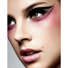 Dior makeup catwalk beauty trends Catwalk makeup and beauty trends... found on Polyvore