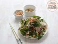 IQS 8-Week Program - Asian Noodle Salad with Pickled Vegetables; I love pickles, and so many recipes have sugar added during the pickling process. I'd love to try this.