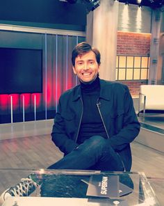 David Tennant has such an infectious smile!