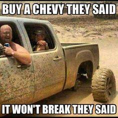Chevy...