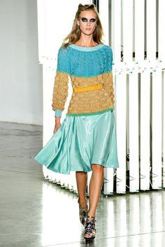 New York Fashion Week: Rodarte, Spring 2012