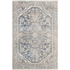 Showcasing a weathered Persian motif, this stylish rug is perfect for welcoming guests in the entryway or anchoring a coffee table in the den.