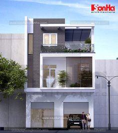Image result for mặt đứng nhà phố
