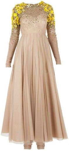 Atsu Nude victorian anarkali available only at Pernia's Pop-Up Shop.To get more latest collection then log on to www.in and also want to customise this garment then Anarkali Dress, Red Lehenga, Pakistani Dresses, Indian Dresses, Indian Outfits, Lehenga Choli, Bridal Lehenga, India Fashion, Ethnic Fashion