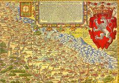Lower Silesia map 1561