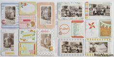 Becki Adams Designs: Restoring Old Photo Albums into Pocket Page Scrapbooks