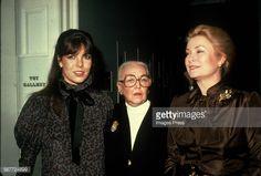 Foto di attualità : Princess Caroline, Vera Maxwell and Grace Kelly...