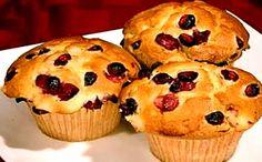Receita de muffin de goji berry para a fase consolidação dukan.