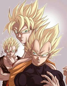 DBZ Gohan, Goku & Vegeta