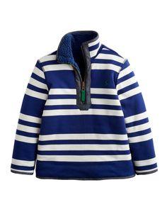 """#Joules - Fleece Wendepullover """"Sterwin"""" - € 47,95 - Wikimo Kindermode, blau gestreift/blau by Tom Joule"""