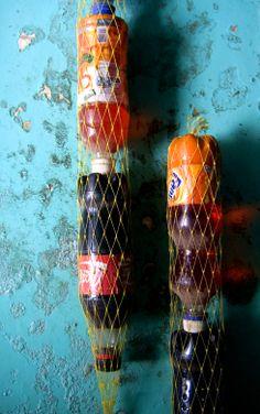 Coke can/bottle storage in the internet cafe, Varanasi, India
