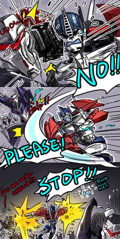 Aww poor bb orion didnt realize his strength till those cons wail to the medbay Optimus Prime, Transformers Prime Funny, Transformers Decepticons, Transformers Bumblebee, Funny Comics, Just In Case, Play Therapy, Therapy Activities, Speech Therapy