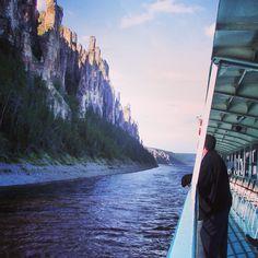 Lena Pillars, south of Yakutsk, #Russia.