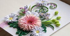 квиллинг цветы: 14 тыс изображений найдено в Яндекс.Картинках
