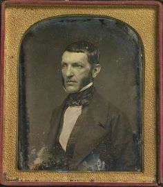 George Bancroft 1800–1891 John Plumbe Jr. (1809–1857)  Quarter-plate daguerreotype, 1846 national portrait gallery , Smithsonian Institution, Washington, D.C.