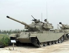 Centurion.  A post war British design originally fielded in 1945,  Centurions were one of the most successful tanks of their era. Centurions saw significant combat, and found great success, with the IDF in the Arab-Israeli wars.  Modified troop carrier versions were still being fielded by the IDF in 2006.