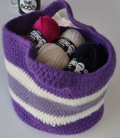 Ravelry: Winter Berries Bag pattern by Sue Mitchell
