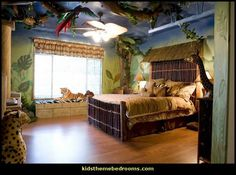 17 awesome kids room design ideas inspired from the jungle paxton