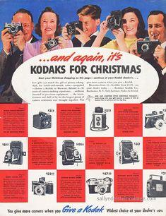 Vintage Kodak Camera Ad