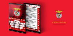 SL Benfica Official Keyboard - screenshot