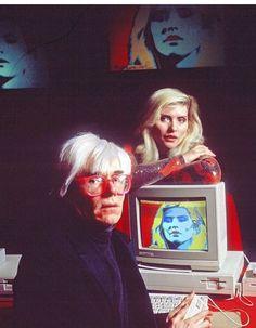 Andy Warhol & Debbie Harry aka Blondie