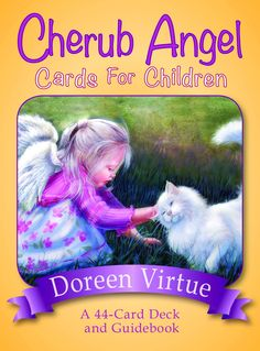 Cherub Angel Cards for Children by Doreen Virtue  Small sizes for small hands! Angel oracle cards for kids to help develop intuition.