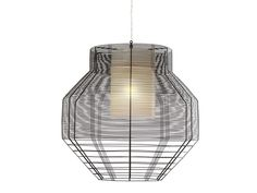 Direct Indirect Light Pendant Lamp MESH M Mesh Collection By Forestier |  Design Arik Levy Pictures Gallery