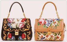 Dolce Gabbana handbags pre-fall 2012