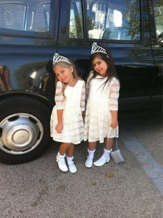 I love these lil girls .. They are too adorable.
