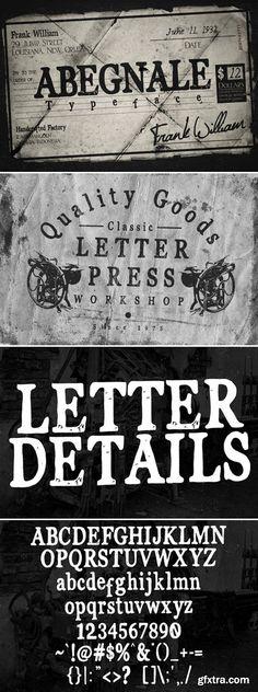 CM - Abegnale Typeface